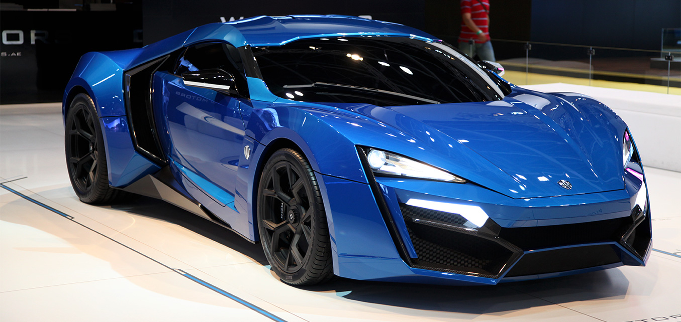 Lykan HyperSport Launch - Dubai International Motor Show