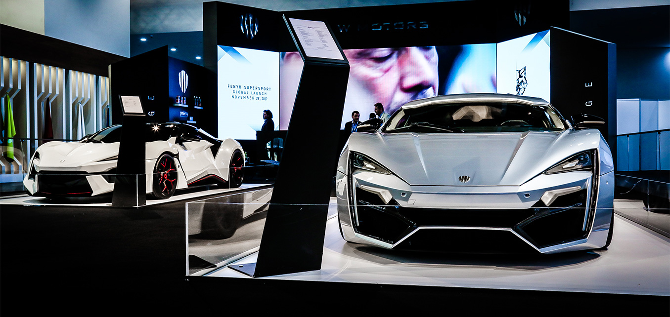 Fenyr SuperSport & Lykan HyperSport- Dubai International Motor Show