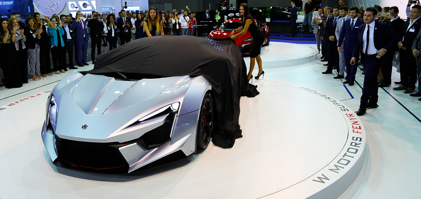 Fenyr SuperSport Prototype Launch - Dubai International Motor Show