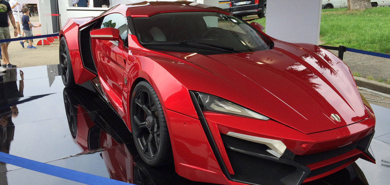 Lykan HyperSport Viewing - Parco Valentino