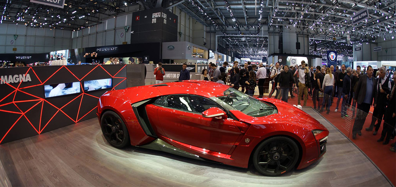 Lykan HyperSport with Magna Steyr - Geneva International Motor Show