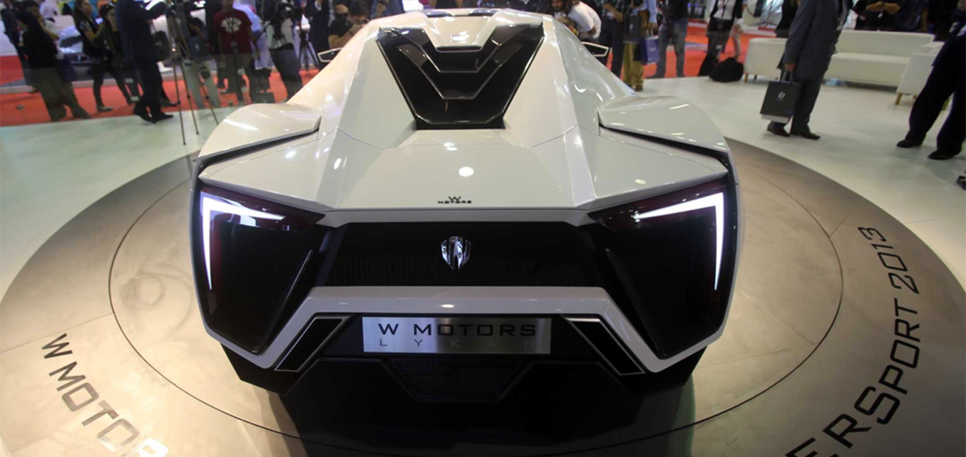Lykan HyperSport Launch - Qatar International Motor Show
