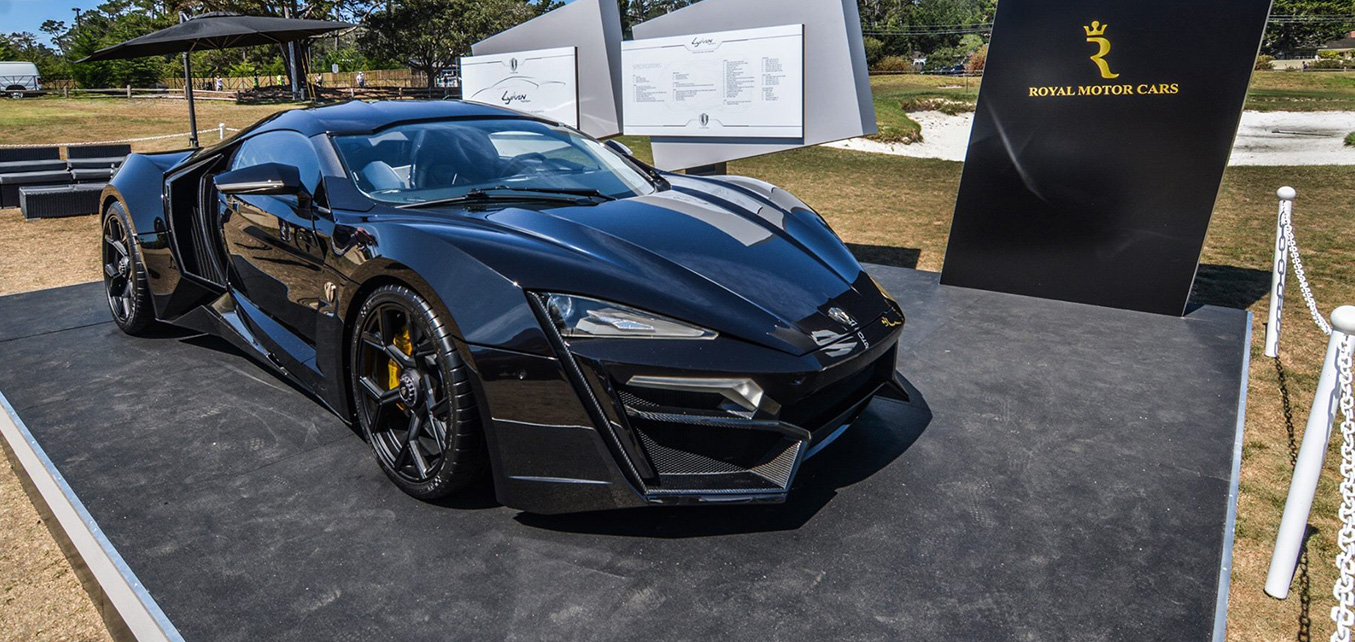 Lykan HyperSport Launch - Pebble Beach