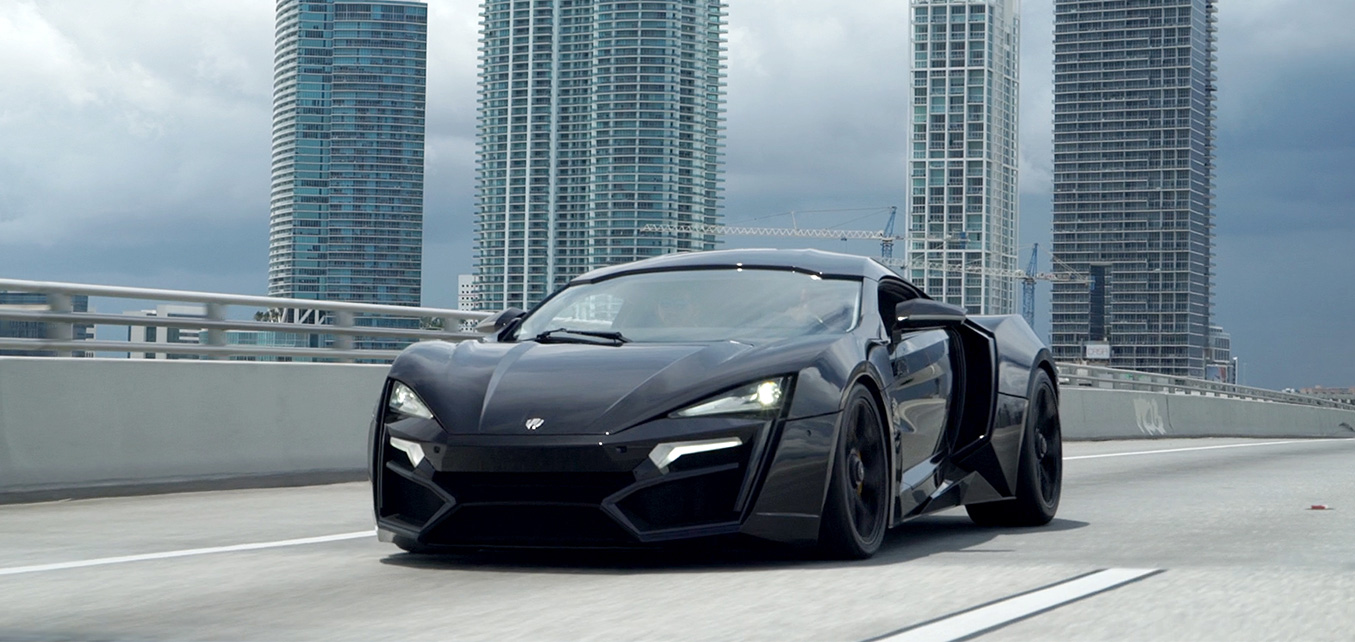 Lykan HyperSport Private Event