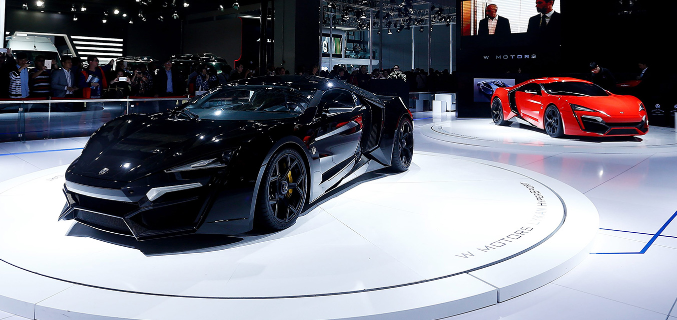 Lykan HyperSport Launch - Shanghai International Motor Show